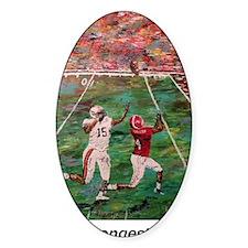 Longest Yard Football Poster Print Decal