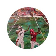 """The Longest Yard Football Poster Print 3.5"""" Button"""