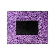Purple faux glitter Picture Frame