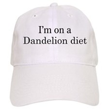 Dandelion diet Baseball Cap