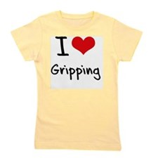 I Love Gripping Girl's Tee