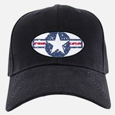 Air force roundel blue Baseball Hat