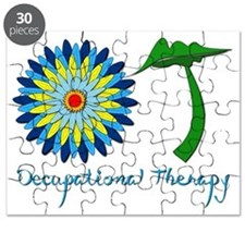 Flower Power OT Blue Puzzle