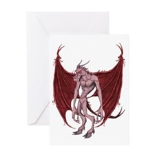 JERSEY DEVIL Greeting Card