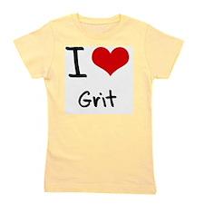 I Love Grit Girl's Tee