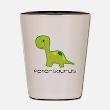 Personalized Toddler Dinosaur Shirt Shot Glass