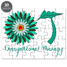 Flower Power OT green Puzzle
