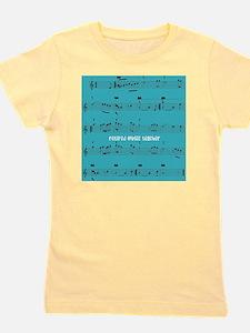 Retired Music Teacher ALL OVER Girl's Tee