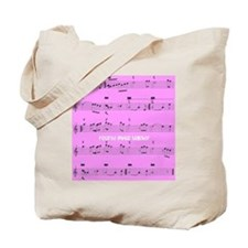 Retired Music Teacher All over PINK Tote Bag