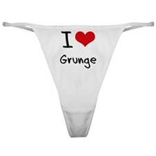I Love Grunge Classic Thong