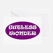Gutless Wonder Greeting Card