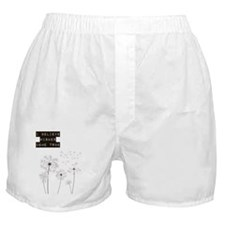 Believe in Wishes Dandelions Boxer Shorts