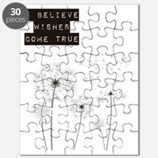 Believe in Wishes Dandelions Puzzle