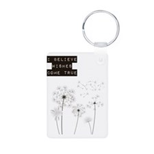 Believe in Wishes Dandelio Keychains
