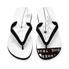 Believe in Wishes Dandelions Flip Flops