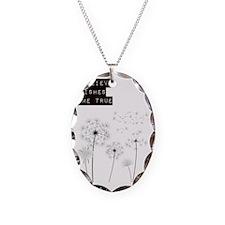 Believe in Wishes Dandelions Necklace