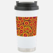 Jelly Donuts Invasion Stainless Steel Travel Mug