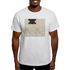 Believe in Wishes Dandelions T-Shirt