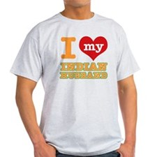 I love my Indian Husband T-Shirt