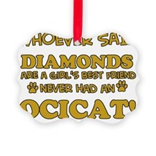 Ocicat designs Ornament