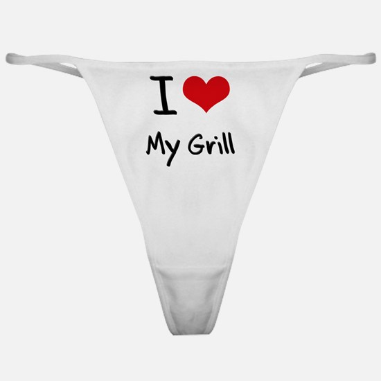 I Love My Grill Classic Thong