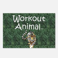 workoutanimal1 Postcards (Package of 8)