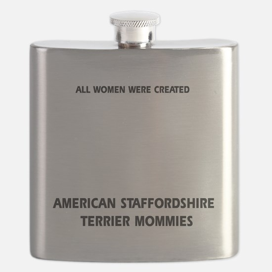 American Staffordshire Terrier mommy Flask
