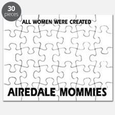 Airedale Terrier mommy Puzzle