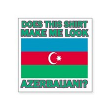 """Azerbaijani designs Square Sticker 3"""" x 3"""""""
