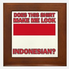 Indonesian designs Framed Tile