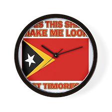 East Timor designs Wall Clock