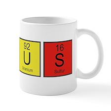 PeriodicElGenius1E Small Mugs