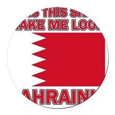 Bahraini designs Round Car Magnet
