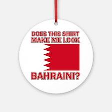 Bahraini designs Round Ornament