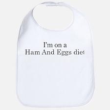 Ham And Eggs diet Bib