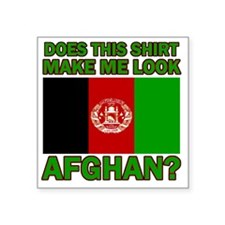 """Afghanistan designs Square Sticker 3"""" x 3"""""""