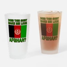Afghanistan designs Drinking Glass