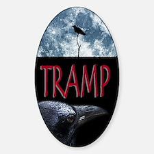 Tramp Sticker (Oval)