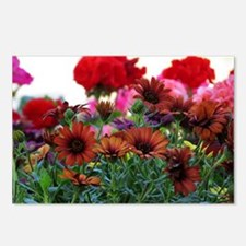 .flowers at the market. Postcards (Package of 8)