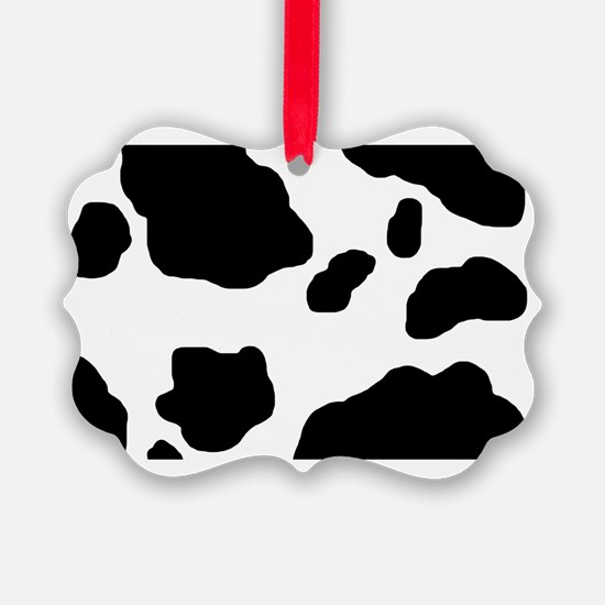 Cow Pattern Ornament