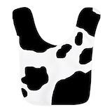 Cows Fleece Bibs