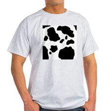 Black/White Cow T-Shirt