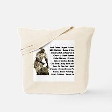 Soul Food Menu Tote Bag