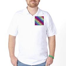 Neon Leopard Pattern T-Shirt