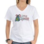 Little Squeaker Women's V-Neck T-Shirt