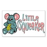 Little Squeaker Rectangle Sticker