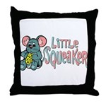 Little Squeaker Throw Pillow