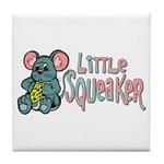 Little Squeaker Tile Coaster