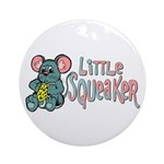 Little Squeaker Ornament (Round)