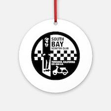 SBSC Ska logo 10in Round Ornament